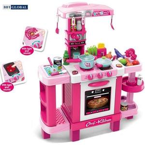 Đồ chơi mô hình BBT GLOBAL - Đồ chơi nấu ăn cỡ lớn có máy hút mùi cho bé - 008-938