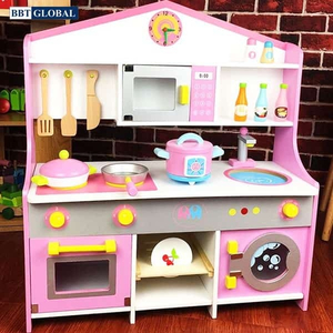 Đồ chơi mô hình BBT GLOBAL - Đồ chơi nhà bếp bằng gỗ BBT Global cao cấp cỡ lớn cho bé - MSN17074