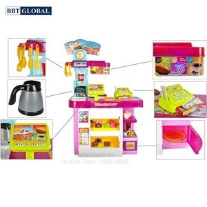 Đồ chơi mô hình BBT GLOBAL - Đồ chơi siêu thị bánh ngọt cao cấp - 889-74