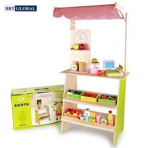 Đồ chơi mô hình BBT GLOBAL - Đồ chơi siêu thị BBT Global bếp gỗ cao cấp - MSN15033