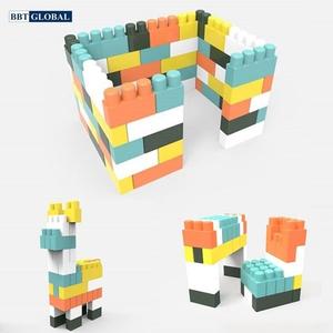 Đồ chơi mô hình Heanim Hàn Quốc - Bộ xếp hình gạch khổng lồ Hàn Quốc cho bé - HN993
