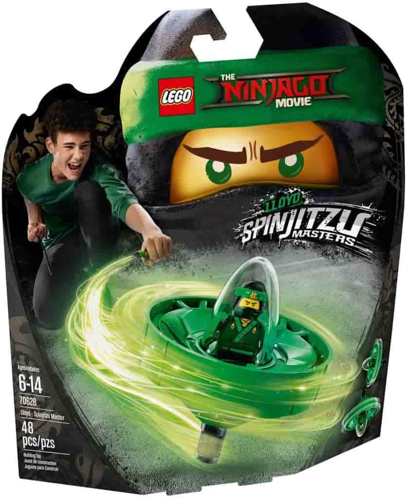 Đồ chơi mô hình LEGO NINJAGO -Cao Thủ Lốc Xoáy Lloyd - 70628
