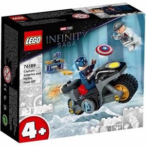 Đồ chơi mô hình LEGO SUPERHEROES - Marvel Super Heroes - Captain America đối đầu Hydra - 76189