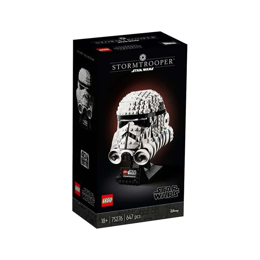 Đồ chơi mô hình LEGO STAR WAR - Mũ Giáp Nhân Vật Lính Stormtrooper - 75276