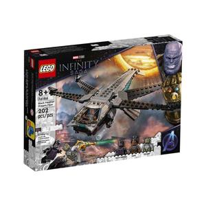 Đồ chơi mô hình LEGO SUPERHEROES - Phi cơ của chiến binh Báo đen - 76186