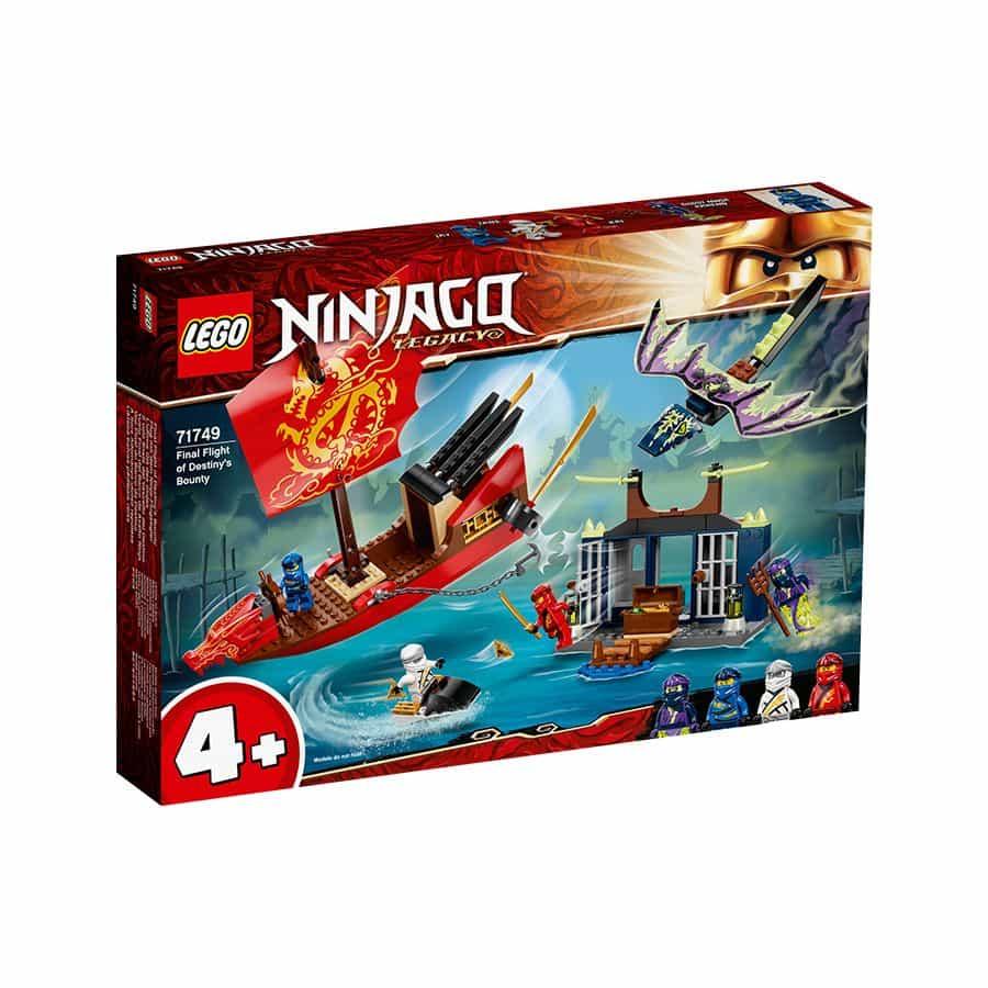 Đồ chơi mô hìnhLEGO NINJAGO - Tàu chiến hạm bay Bounty - 71749