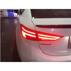 Độ đèn hậu mazda kiểu Audi