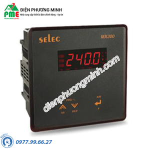 Đồng hồ đo đa năng Selec - Model MX300-C (96x96)
