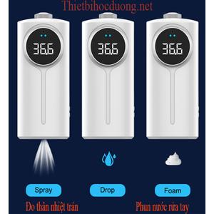 Chọn máy đo thân nhiệt có 2 bộ cảm biến tốt nhất tích hợp phun sương khử trùng