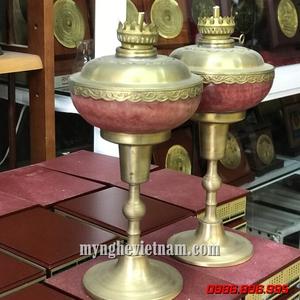 Đôi đèn dầu dùng trong thờ phụng cao 35cm