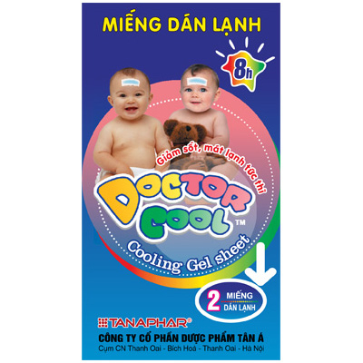 Miếng dán hạ sốt Doctor Cool