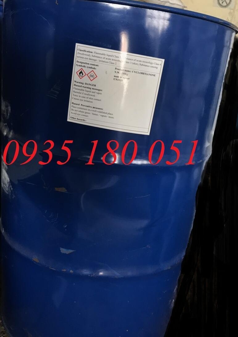 Dầu ông già - Cyclohexanon C6H12O (CYC, ANONE)