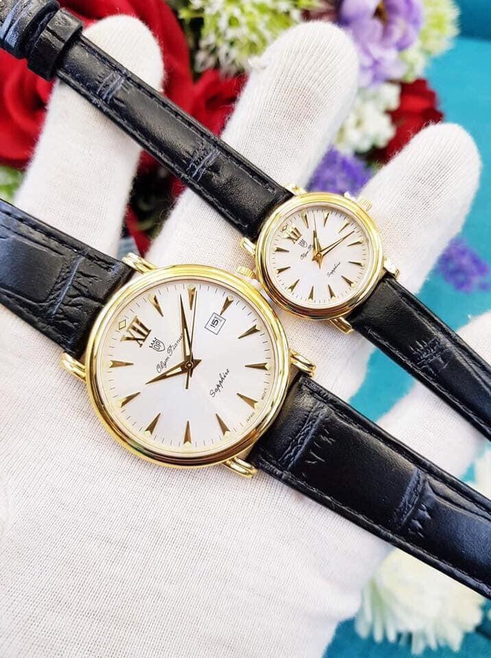 Đồng hồ đôi Olym Pianus DOI OP130-07K-GL-T