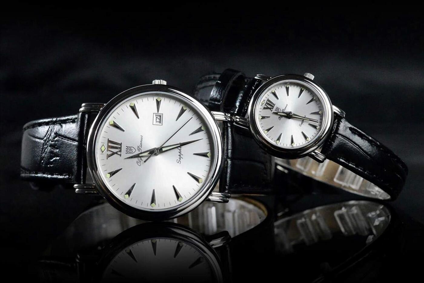 Đồng hồ đôi Olym Pianus DOI OP130-07S-GL-T