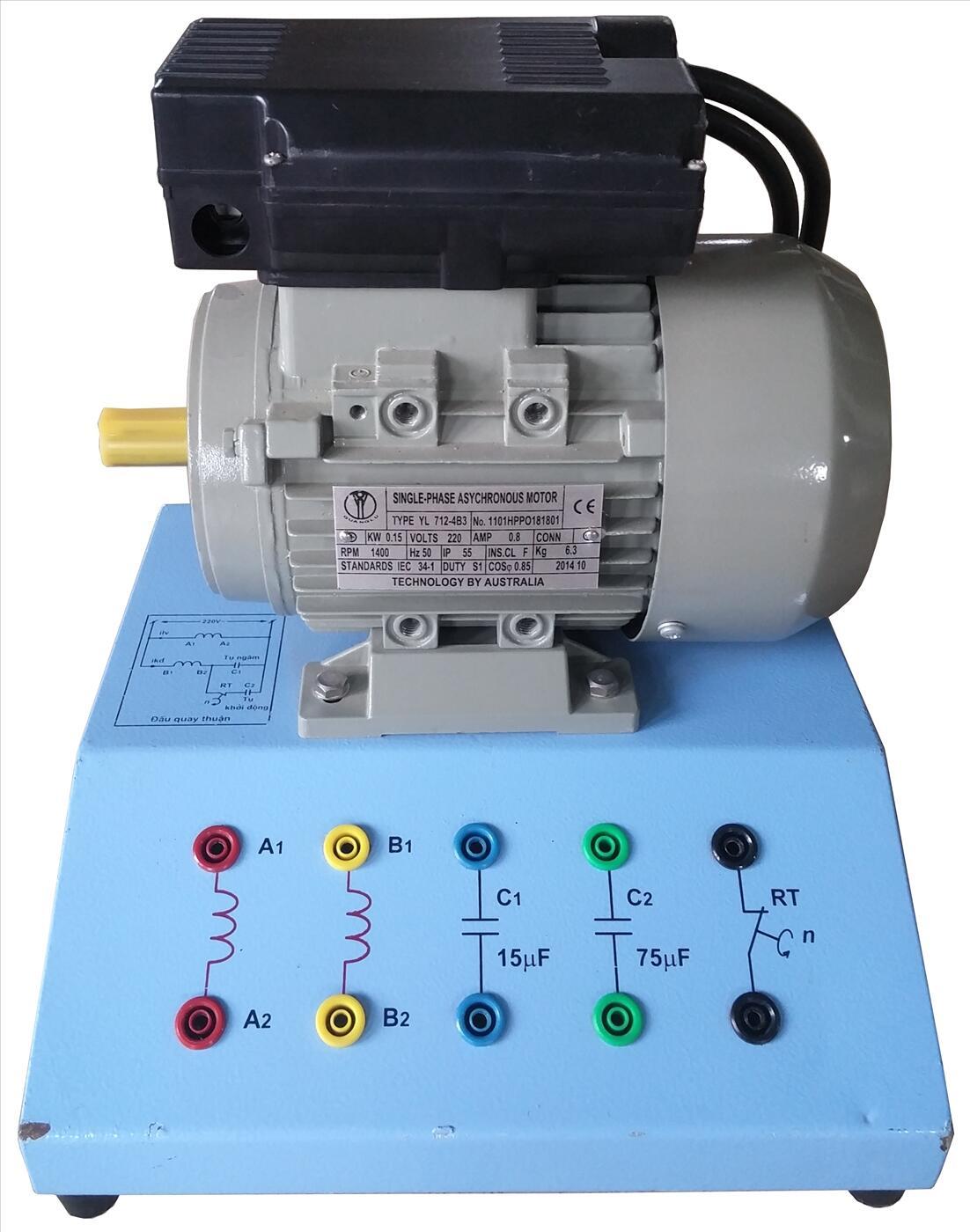 Động cơ điện 1 pha có vòng ngắn mạch