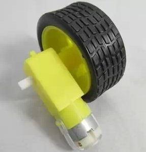 Bộ động cơ + Bánh xe robot