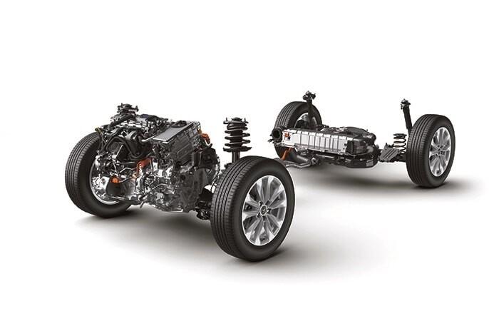 Động cơ Hybrid trên xe Toyota Corolla Cross 1.8HV