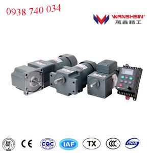Động cơ giảm tốc AC Wanshsin trục nhỏ, AC 6W/ 15W/ 25W / 40W / 60W / 90W / 120W / 200W / 250W