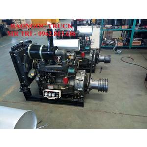 Bán động cơ lai, máy nén khí lắp cho mooc bồn chở xi măng rời