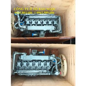 Động cơ tổng thành howo 375 hp