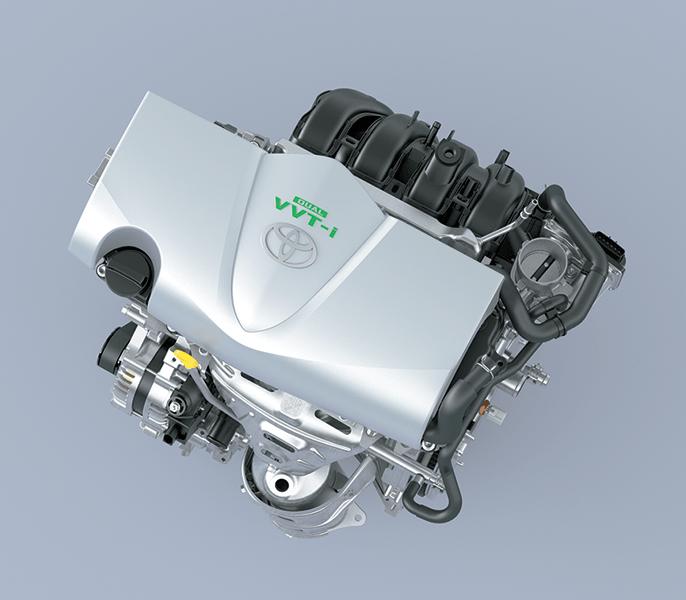 Động cơ 1.5L trên Toyota Vios thế hệ mới