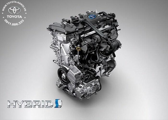 Động cơ xe Corolla Cross 2021