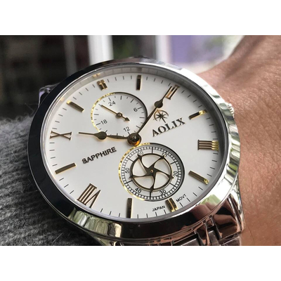 Đồng hồ nam chính hãng Aolix al 7067g - mst