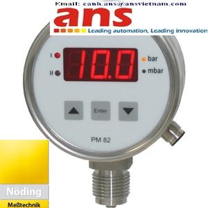 Đồng hồ áp suất kỹ thuật số Noeding PM82-0112-310