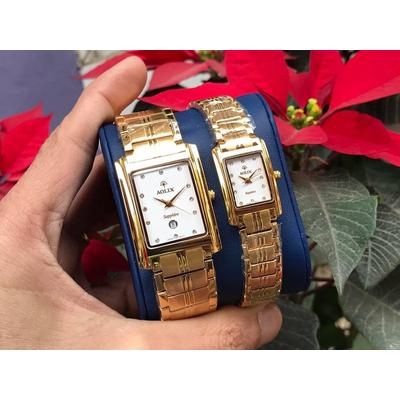 Đồng hồ cặp đôi chính hãng Aolix al 9046 - mkt