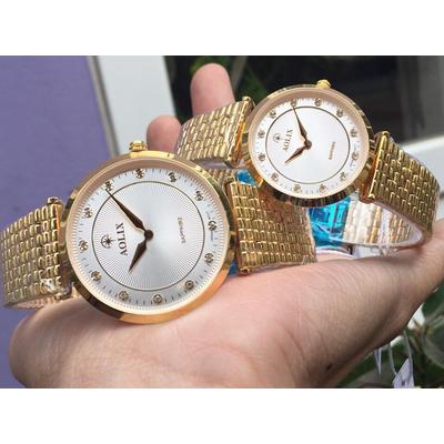 Đồng hồ cặp đôi chính hãng aolix al 9152 - mkt