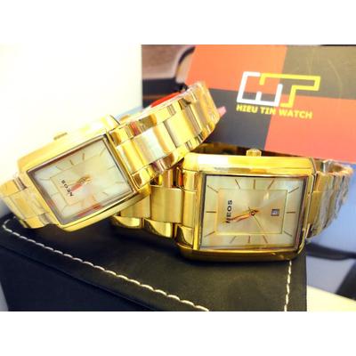 Đồng hồ cặp đôi chính hãng Neos N-30856ML-FG9A