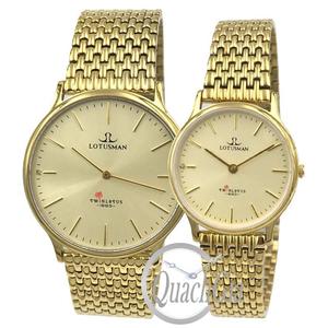 Đồng hồ cặp đôi Lotusman M103A.GGJ
