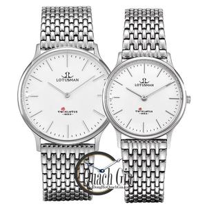 Đồng hồ cặp đôi Lotusman M103A.SSW