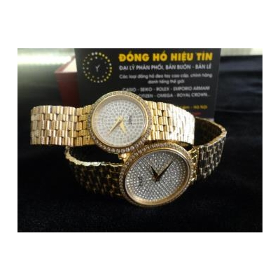 Đồng hồ cặp đôi Piaget diamond 18k gold G0a37048- g0a37044
