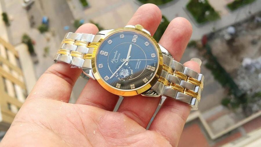 Đồng hồ cơ Alexandre Christie 8A197M-00616