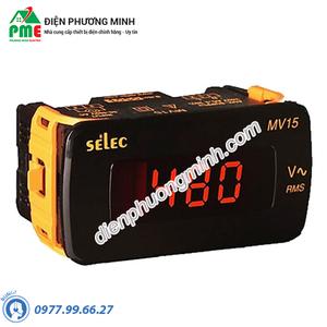 Đồng hồ đo điện áp Selec - Model MV15 (48x96)