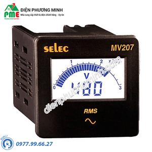 Đồng hồ đo điện áp Selec - Model MV207 (72x72)