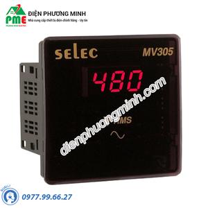 Đồng hồ đo điện áp Selec - Model MV305 (96x96)