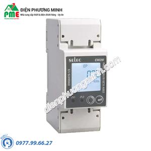 Đồng hồ đo điện đa chức năng Selec - Model EM2M-1P-C-100A-CE (90x35)