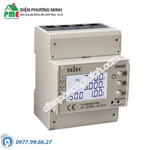 Đồng hồ đo điện đa chức năng Selec - Model EM4M-3P-C-100A (90x70)