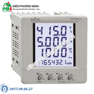 Đồng hồ đo điện đa chức năng Selec - Model MFM383A (96x96)