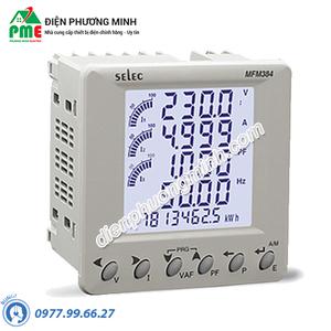 Đồng hồ đo điện đa chức năng Selec - Model MFM384-C (96x96)