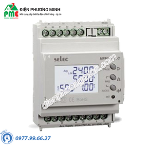 Đồng hồ đo điện đa chức năng Selec - Model MFM384-R-C (70x90)