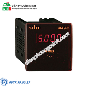 Đồng hồ đo dòng điện AC gián tiếp qua CT - Model MA202 (72x72)