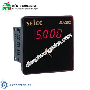 Đồng hồ đo dòng điện AC gián tiếp qua CT - Model MA302 (96x96)
