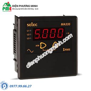 Đồng hồ đo dòng điện AC gián tiếp qua CT - Model MA335 (96x96)