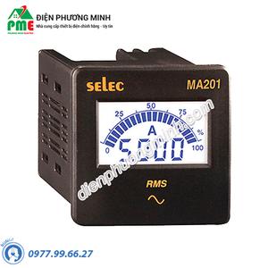 Đồng hồ đo dòng điện AC Selec - Model MA201 (72x72)