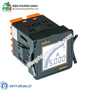 Đồng hồ đo dòng điện AC Selec - Model MA501 (48x48)