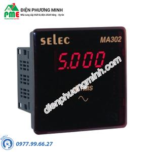 Đồng hồ đo dòng điện DC Selec - Model MA302-75mV-DC (96x96)