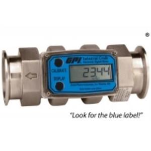 Đồng hồ đo lưu lượng thép không gỉ Tri-Clover